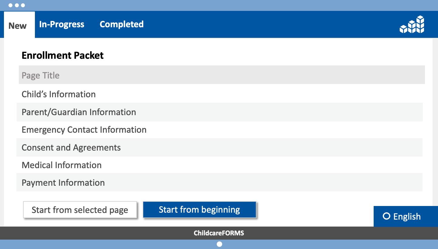 CCF-Enrollment Packet - English